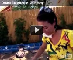 Dorado Soapstone featured on DIY Network for soapstone counter top installation.