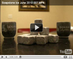 Soapstone Ice Cubes video