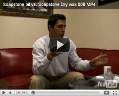 Watch this video about why it is best to use Dorado Soapstone Dry Wax for finishing touch on your new installed soapstone products